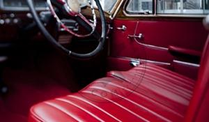 Mercedes Benz 220 s interior restoration