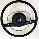 MERCEDES leather steering wheel