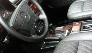 Mercedes Benz G klasė salono restauravimas