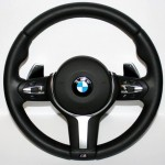 BMW F30 vairo apsiuvimas oda
