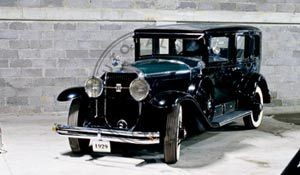 Cadillac 341-A Fleetwood 1929 m. salono restauravimas